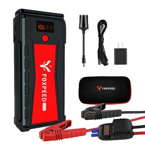 21000mAh Portable Auto Jump Starter(up to 8L Gas, 6.5L Diesel Engine)