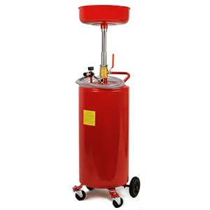 XtremepowerUS 20 Gallon Portable Waste Oil Drain Tank