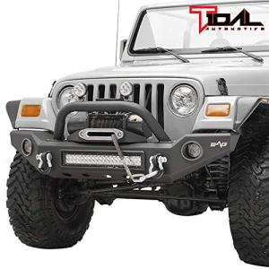 Tidal Front Bumper with LED Light and Light Surround