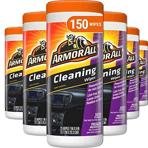 Armor All Car Interior Cleaner Wipes for Dirt & Dust