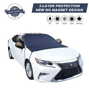 Cypropid Car Windshield Snow Cover, 3-Layer Protection