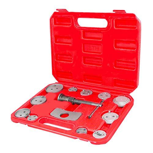 Carlight better 12pcs Disc Brake Caliper Wind Back Tool Kit