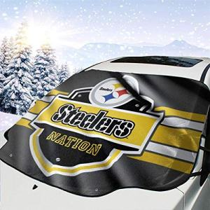 Pittsburgh Steelers Car Windshield Snow Cover Sun