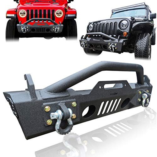 Hunter Stubby Front Bumper with Winch Plate