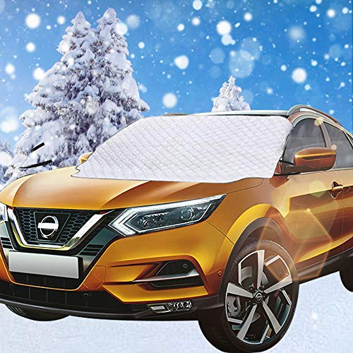 Car Windshield Snow Cover with 4 Layer Protection