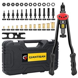 Rivet Nut Tool Setter Kit Including 12 Metric and SAE Mandrels