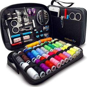 Premium Repair Set Travel Sewing Kit for On-The-Go Repairs