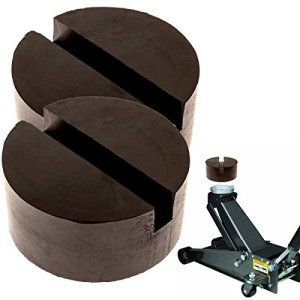 Mission Automotive 2-Pack of Rubber Jack Pads