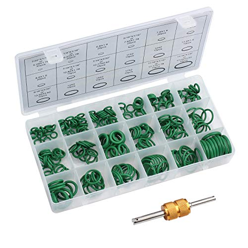 AUTOUTLET 270PCS O Rings Kit 18 Sizes Ca