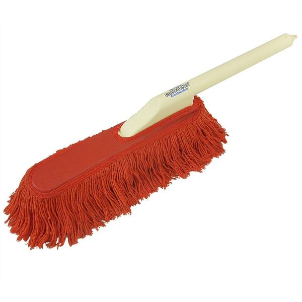 Red Car Duster Standard Car Duster with Plastic Handle