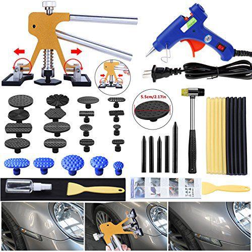 Gliston Auto Dent Puller Kit - Adjustable Golden