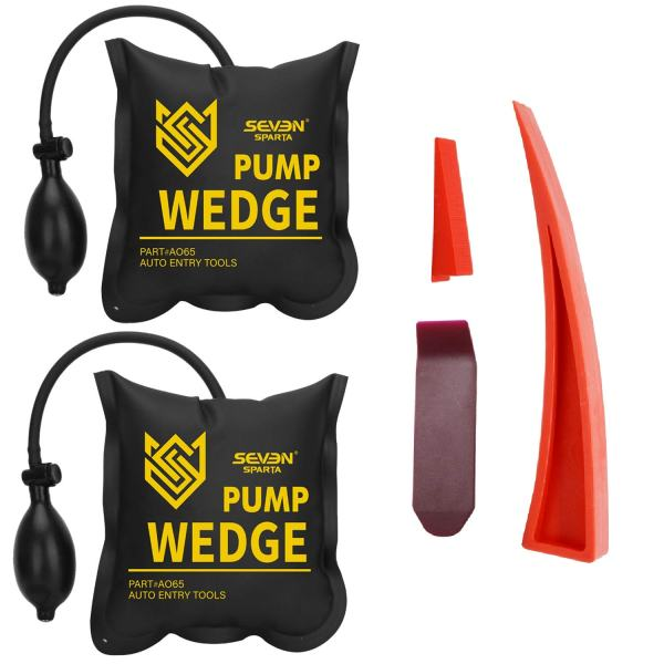 Seven Sparta Air Wedge Pump Kit, 2 PCS Air Wedge Bag