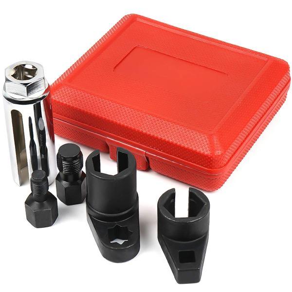 MIKKUPPA 5 pcs Automotive Oxygen Sensor Socket
