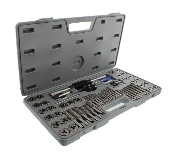 Standard Tap and Die 60-Piece Rethread Set Rethreading Kit