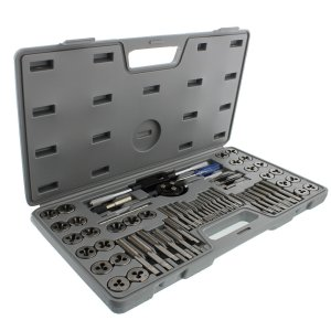Standard Tap and Die 60-Piece Rethread Set Rethreading Kit