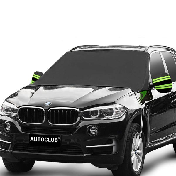 AUTOCLUB Car Windshield Snow Cover,3-Layer Protection