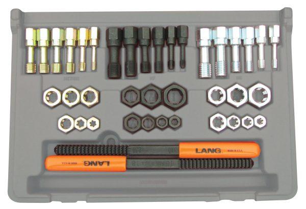 Lang 40 Piece Fractional and Metric Thread Restorer Kit