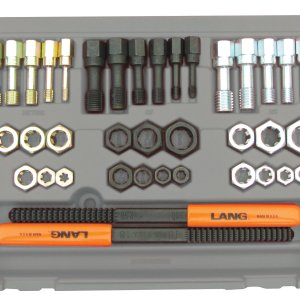 Lang 40 Piece Fractional and Metric Thread Restorer Kit