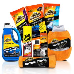 Armor All Car Wash and Cleaner Kit Interior Cleaning Wipes, Concentrate