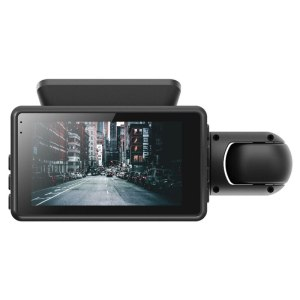 Dash Cam Video Recorder G-Sensor 1080P Front and Inside Camera