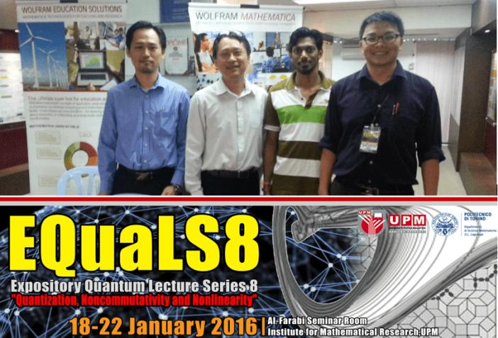 20160122 EQuaLS8 UPM