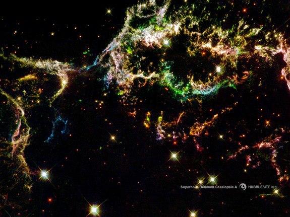 Remnants of a Supernova