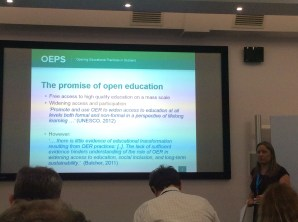 Promise of open education, by Anna Page, CC BY NC SA 4.0