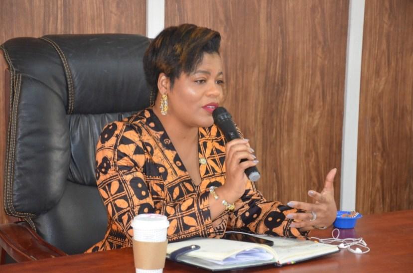 LEAP AFRICA, ON A COURTESY VISIT TO DG OEQA MRS ABIOLA SERIKI-AYENI (10)