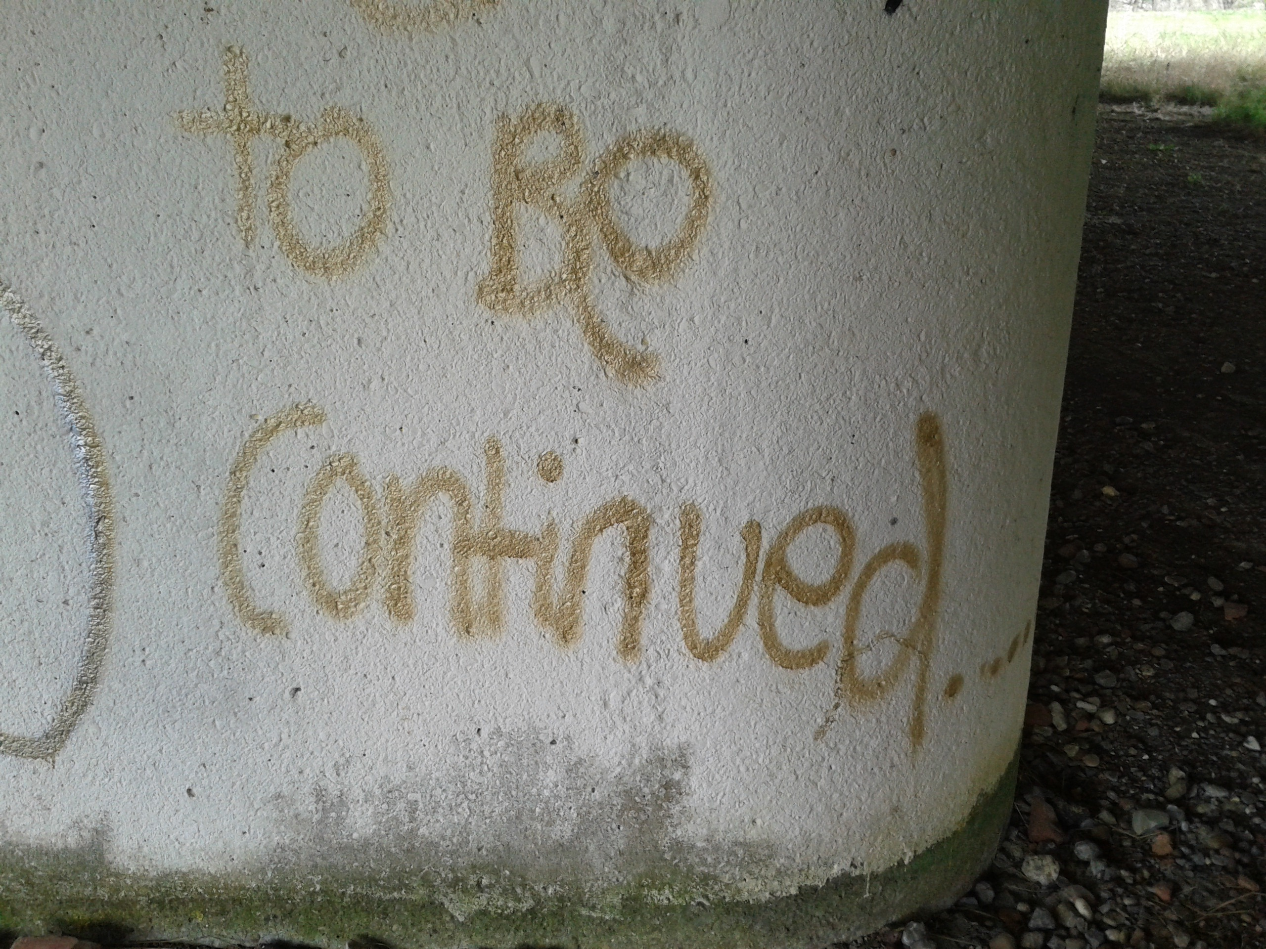 To Be Continued... (Beck Pitt, CC-BY 4.0)