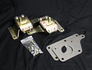 96-04 Mustang UPR LS1 Swap Chrome Moly K Member Kit Urethane