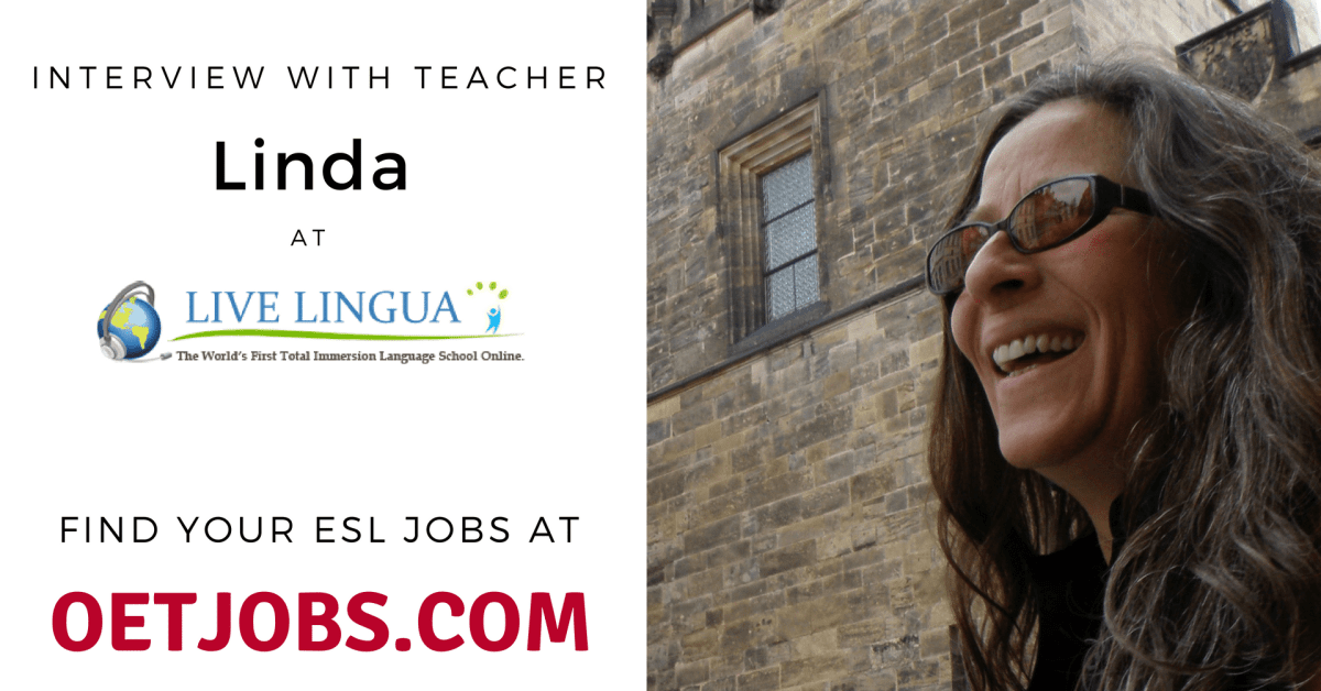 Interview with teacher Linda at Live Lingua