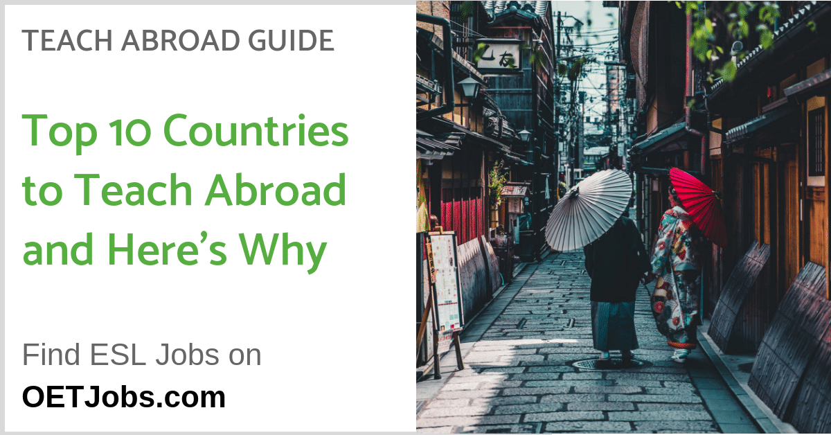 Top 10 Countries to Teach Abroad and Here's Why