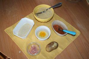 les ingrédient de la pâtée pour poussins aux carottes