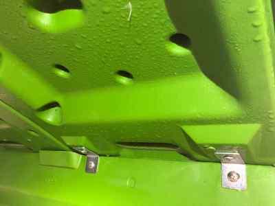 condensation importante sur le toit à l'intérieur de l'eglu cube