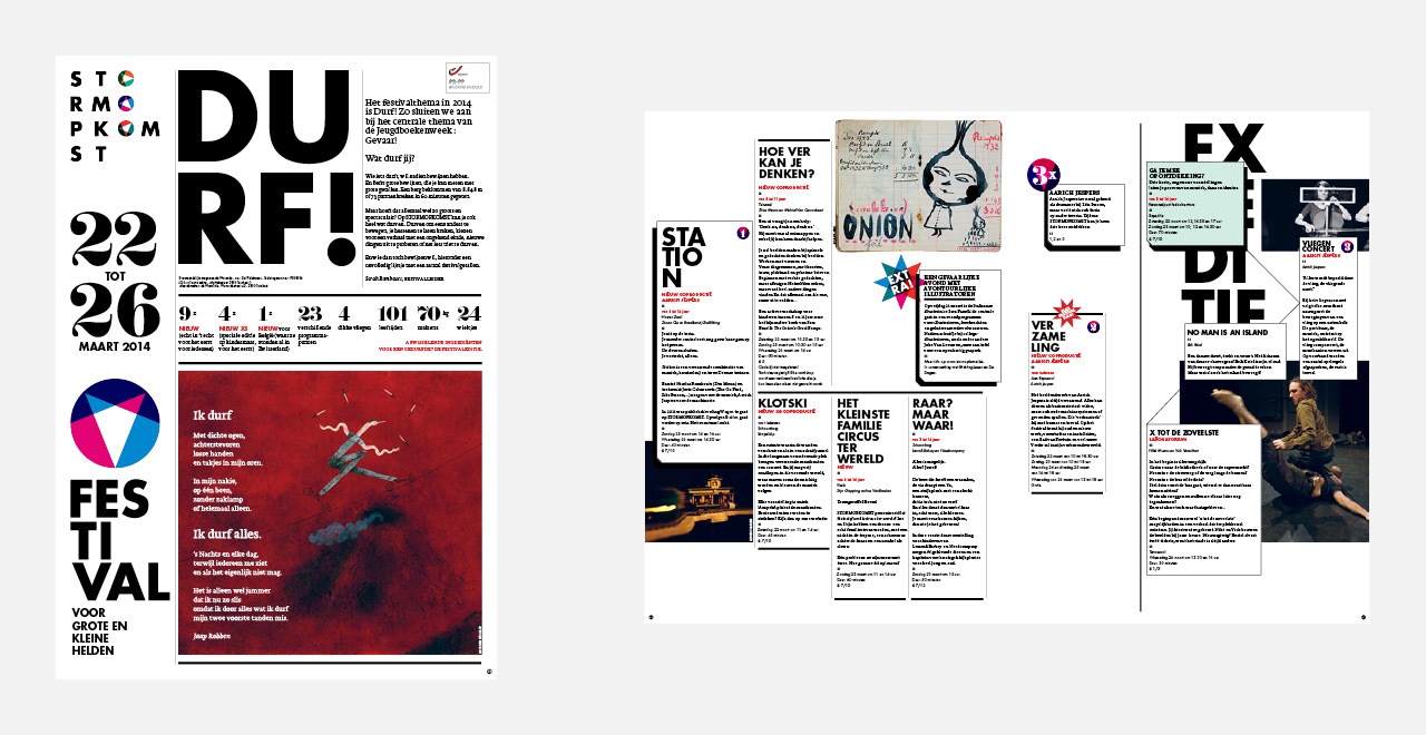 Brand identity and campaign design for 'Stormopkomst'