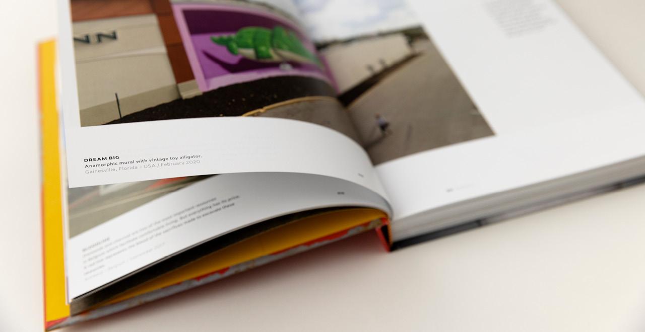 Book design for dutch street artist Leon Keer