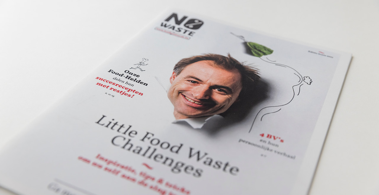 Campaign design for 'No Waste'