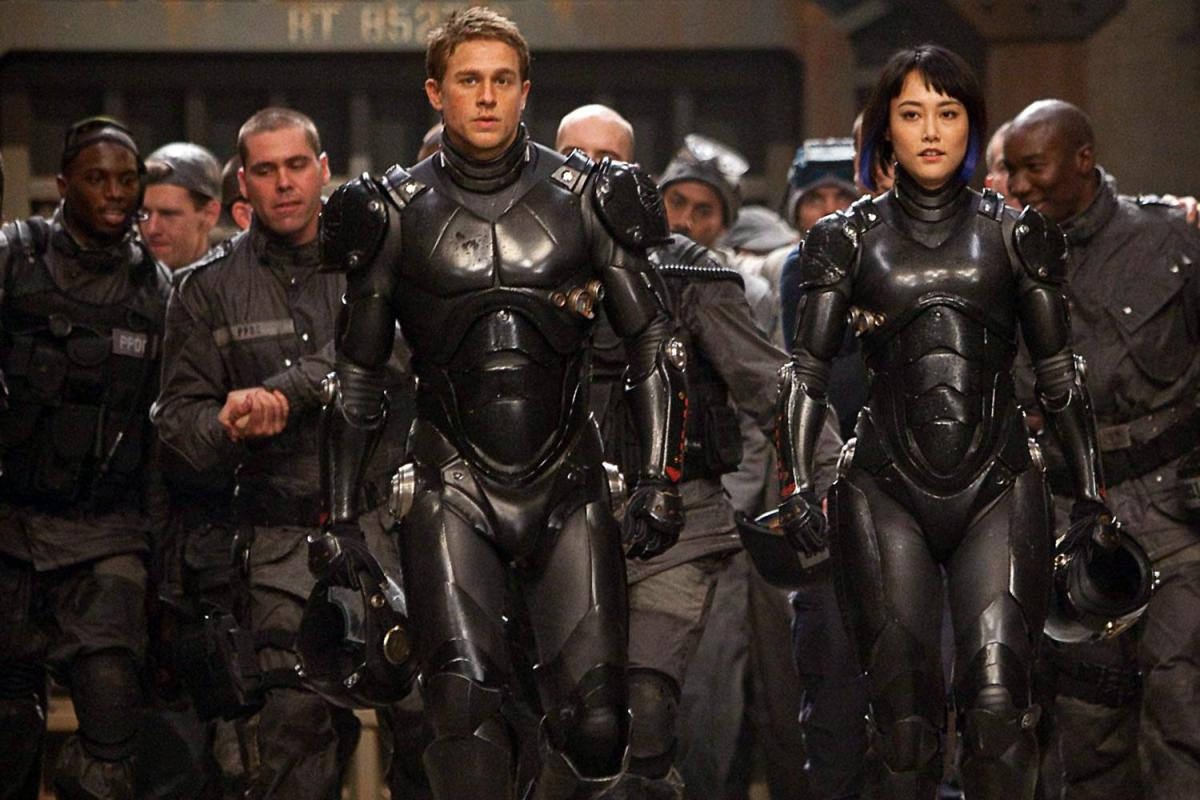 Pacific Rim stands on the edge of being a halfway decent film