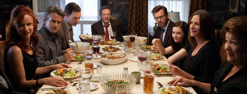 August: Osage County is an overstuffed goose of a family drama
