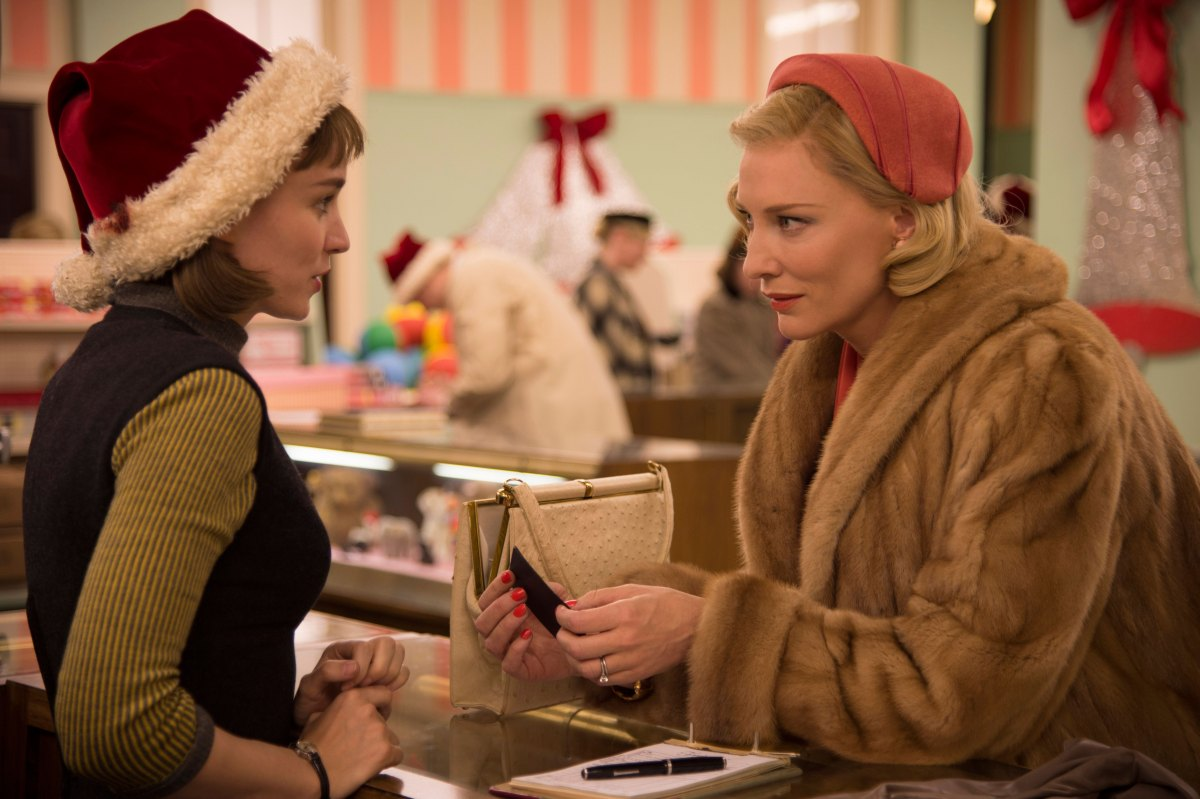Carol is a transcendent plea for kindness and beauty