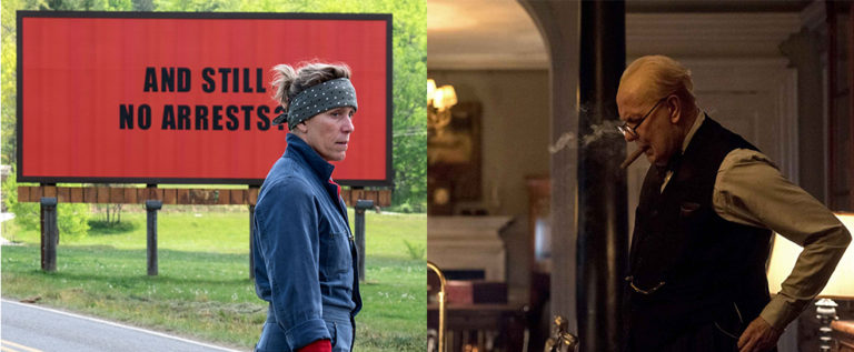 PODCAST: Three Billboards Outside Ebbing, Missouri, & Darkest Hour [Electric Shadows]