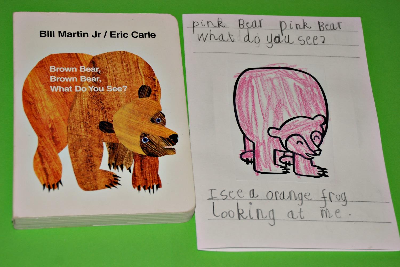 Making A Brown Bear Brown Bear Mini Book