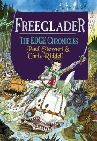 Book cover for Freeglader from The Edge Chronicles by Paul Stewart and Chris Riddell