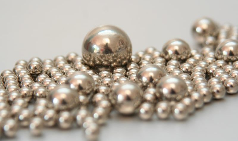 Metal ball bearings by ardelfin at Morguefile.com