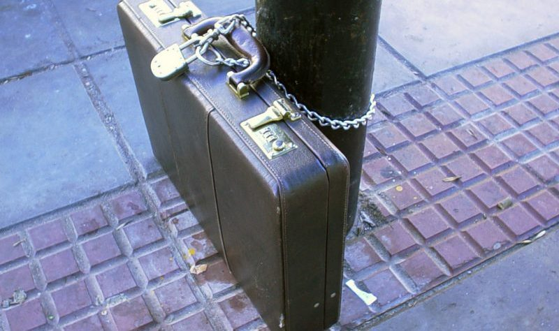 Locked Briefcase by quillefoca at Stock.xchng