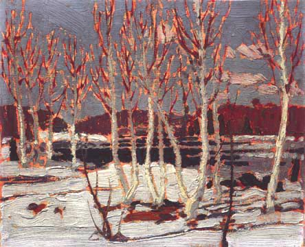 Tom Thomson, April in Algonquin Park