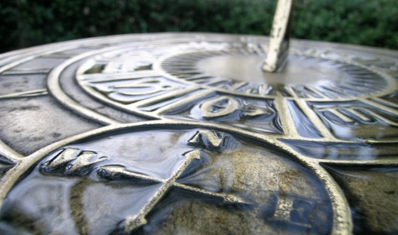 Compass on a Sundial by Jeltovski at Morguefile.com