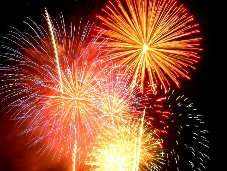 Fireworks by dan tada at Morguefile.com