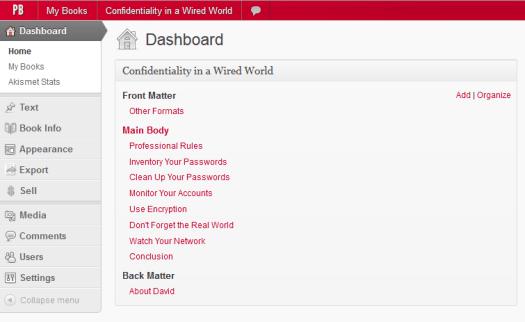 pressbooks-confidentiality-dashboard