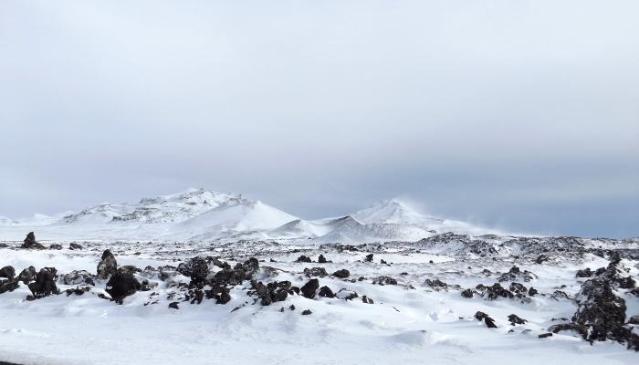Berserkerhraun, the Berserker lava field